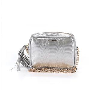 Victoria's secret silver cross body bag